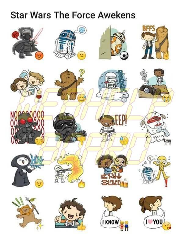 star wars stickers - Tutorial: como criar e enviar seus próprios stickers no Telegram
