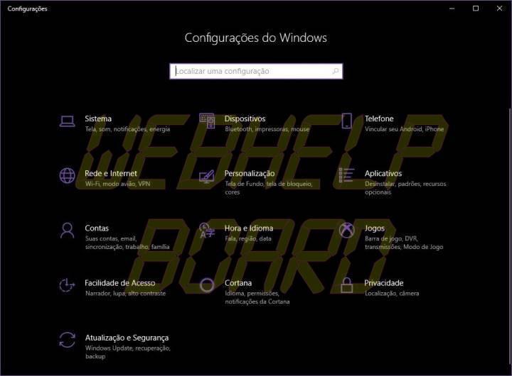 CONFIG 720x530 - Faça o Windows 10 apagar