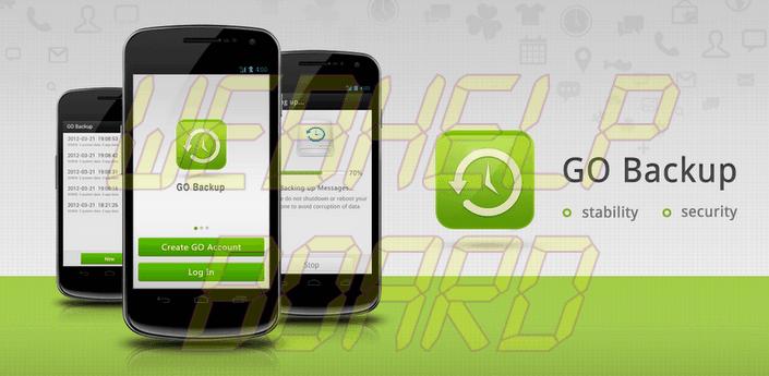 Go Backup - Faça o backup completo dos seus aplicativos e dados no Android com GoBackup