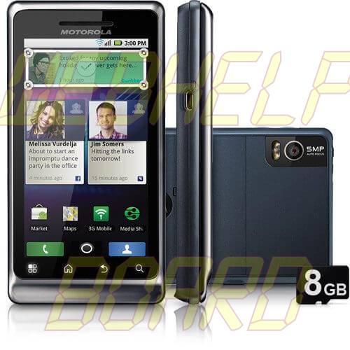 Motorola Milestone 2 Retail - Motorola Milestone 2 Retail recebe atualização 2.3.6