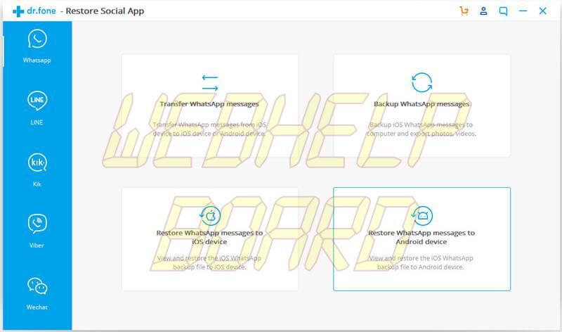 ios whatsapp backup 01 - Como transferir o backup do WhatsApp do iPhone para Android