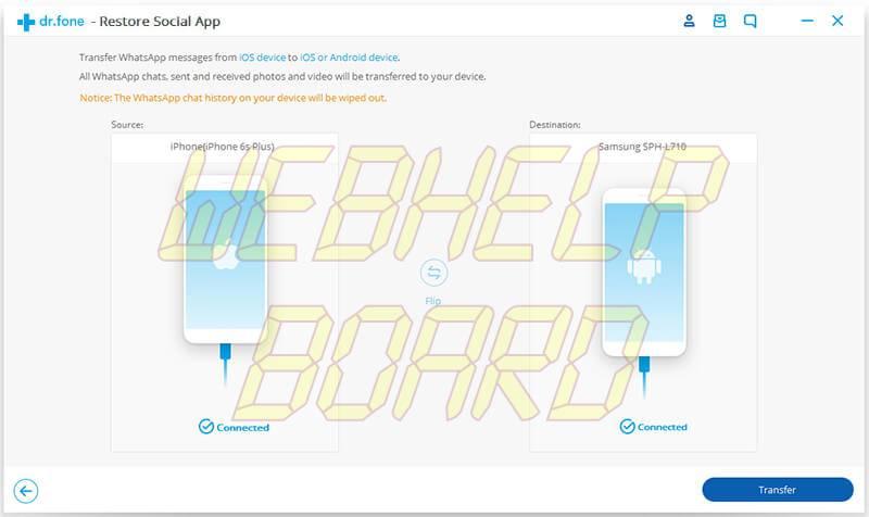ios whatsapp transfer 01 - Como transferir o backup do WhatsApp do iPhone para Android