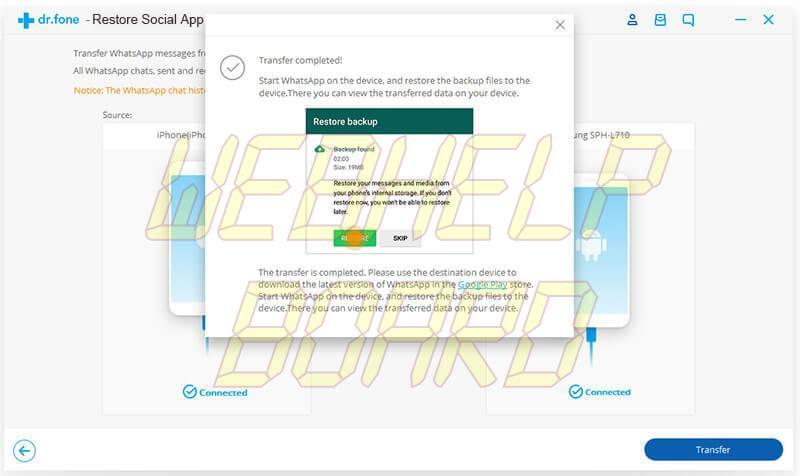 ios whatsapp transfer 04 - Como transferir o backup do WhatsApp do iPhone para Android