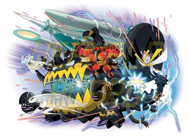 pokemon ultra beasts 720x526 - Como pegar todos os lendários em Pokémon Sun & Moon