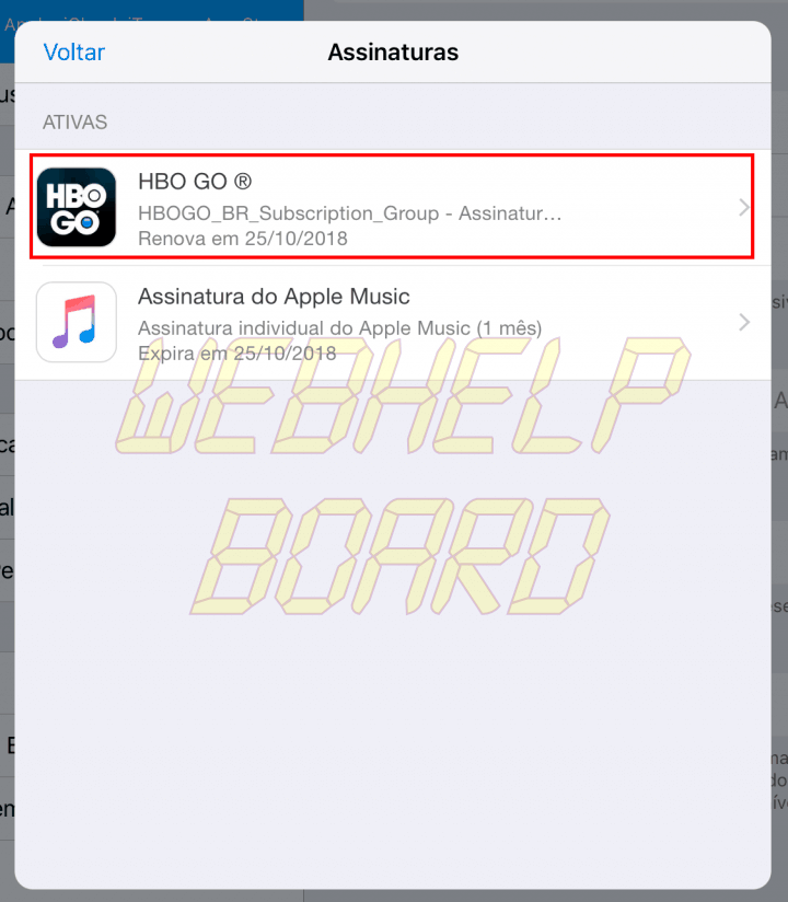 hbo1 1 720x824 - Como cancelar assinaturas da Apple