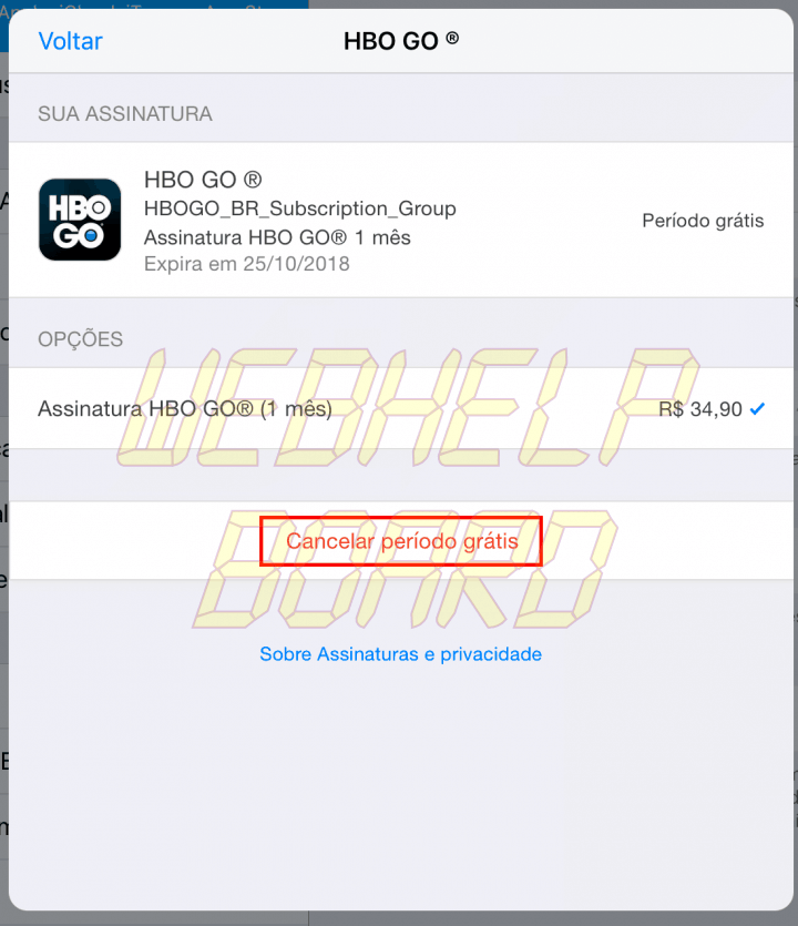 hbo2 1 720x835 - Como cancelar assinaturas da Apple