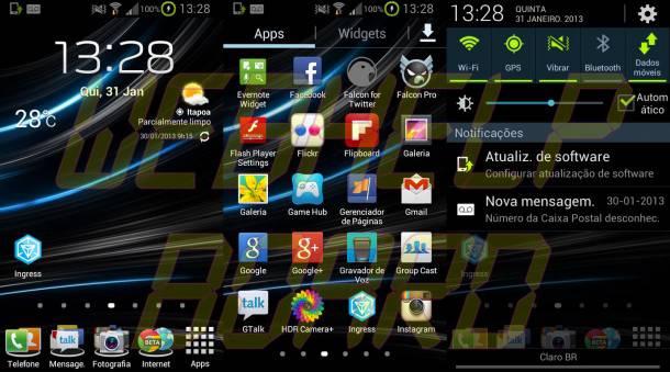 omegascreenshots 610x339 - Review da ROM Omega v19.2 Jelly Bean 4.1.2 para o Samsung Galaxy S2 (GT-i9100)