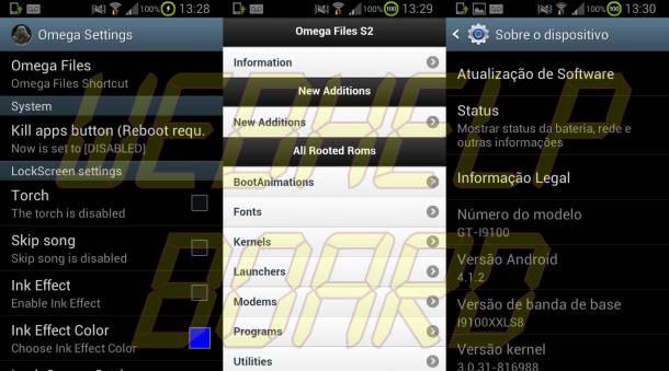omegascreenshots3 610x339 - Review da ROM Omega v19.2 Jelly Bean 4.1.2 para o Samsung Galaxy S2 (GT-i9100)