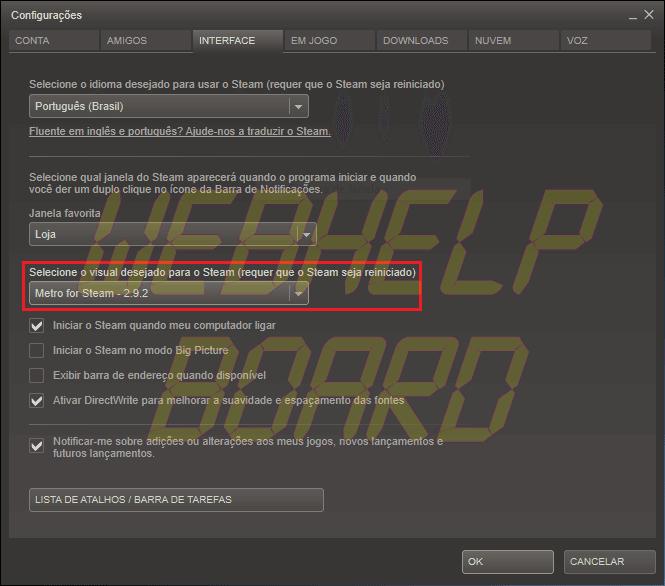 CapturarSP - Tutorial: Metro For Steam - a interface do Windows 8 no seu Steam