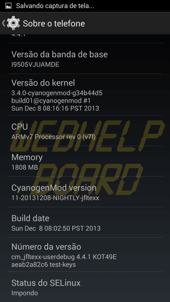 Print CM11 Kikat S4 i9505 04 - Tutorial: instale a ROM CyanogenMOD 11 no Samsung Galaxy S4 (GT-i9505)