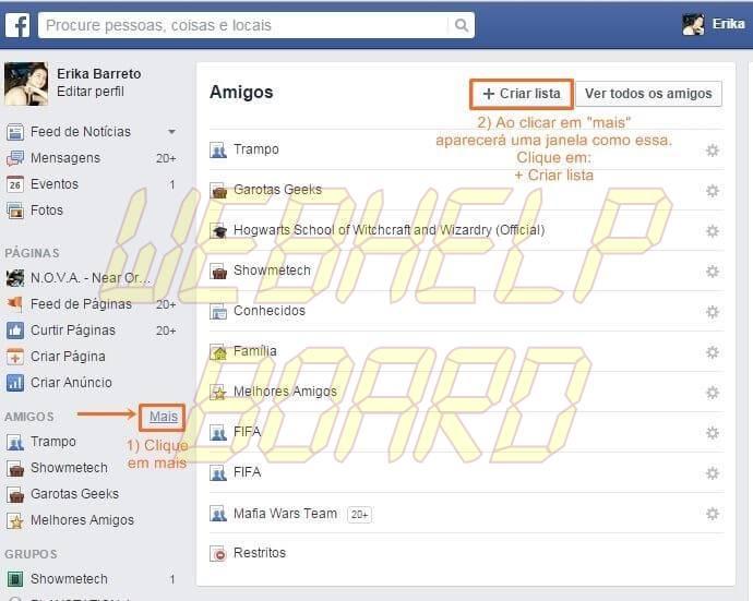 face2 ok - Tutorial: como não perder atualizações dos seus amigos no Facebook