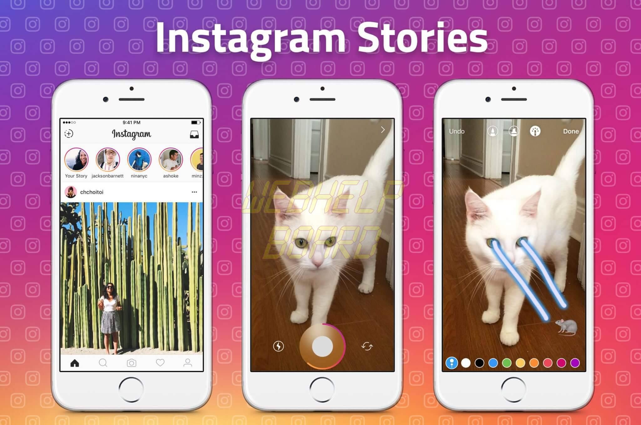 instagram stories1 - Como compartilhar a foto no Instagram Stories e WhatsApp Status ao mesmo tempo