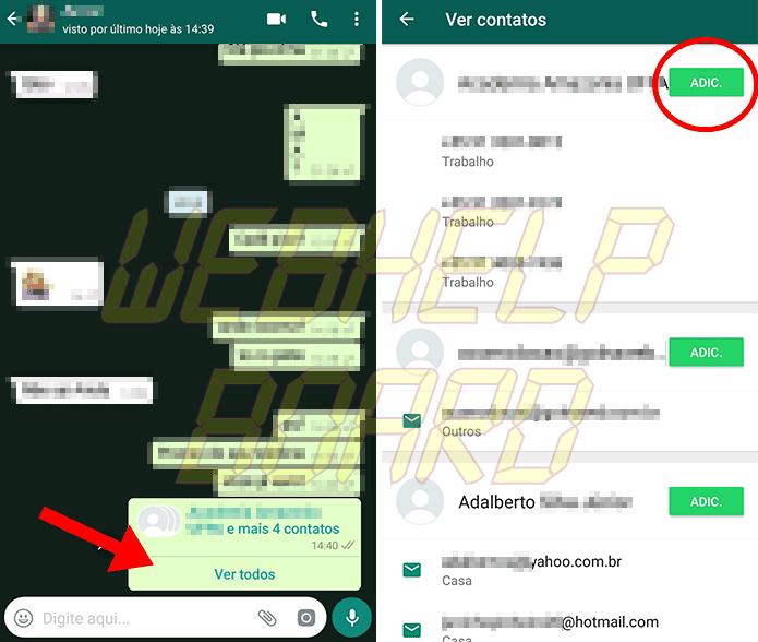 Compartilhe todos de uma vez - Tutorial: Como mandar vários contatos ao mesmo tempo no WhatsApp