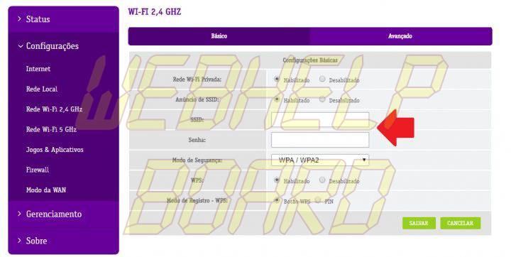MUDANDO A SENHA 720x362 - Tutorial: saiba quem usa sua rede Wi-Fi e bloqueie invasores
