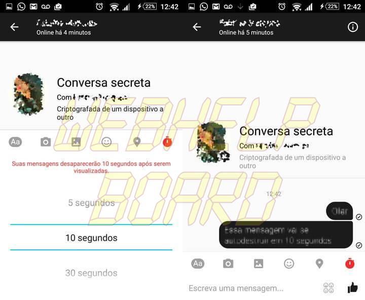 conversa secreta Enviar mensagens secretas no Messenger 720x592 - Tutorial: aprenda a enviar mensagens secretas no Facebook Messenger