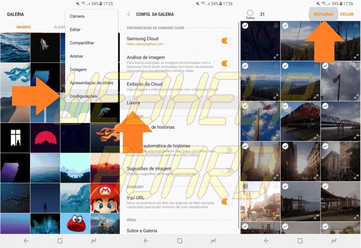 Screenshot 20180107 172539 720x494 - Aprenda a recuperar suas fotos na lixeira do Samsung Cloud