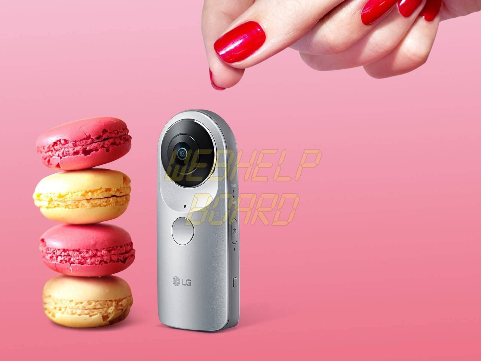 compact spherical camera 1600x1200CAM M02A LG360cam - GoPRO ou câmeras que gravam em 360 Graus?