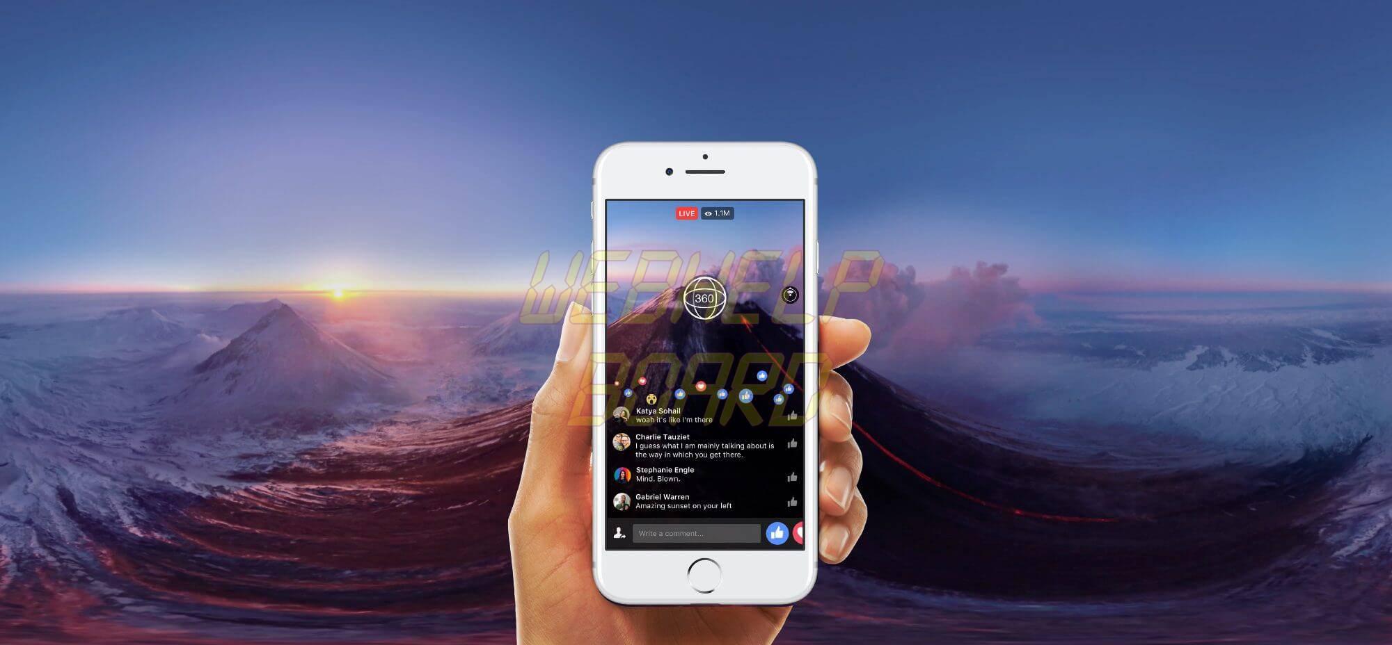 facebook 360 live broadcast video feed - GoPRO ou câmeras que gravam em 360 Graus?