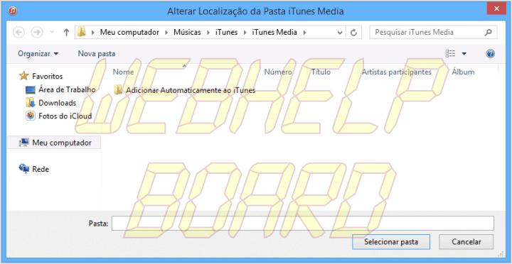 windows itunes12 change media folder 720x372 - Tutorial: Como mover a pasta iTunes Media no Windows