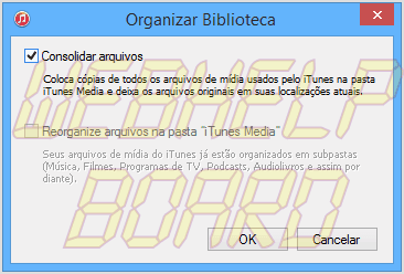 windows itunes12 organize library - Tutorial: Como mover a pasta iTunes Media no Windows