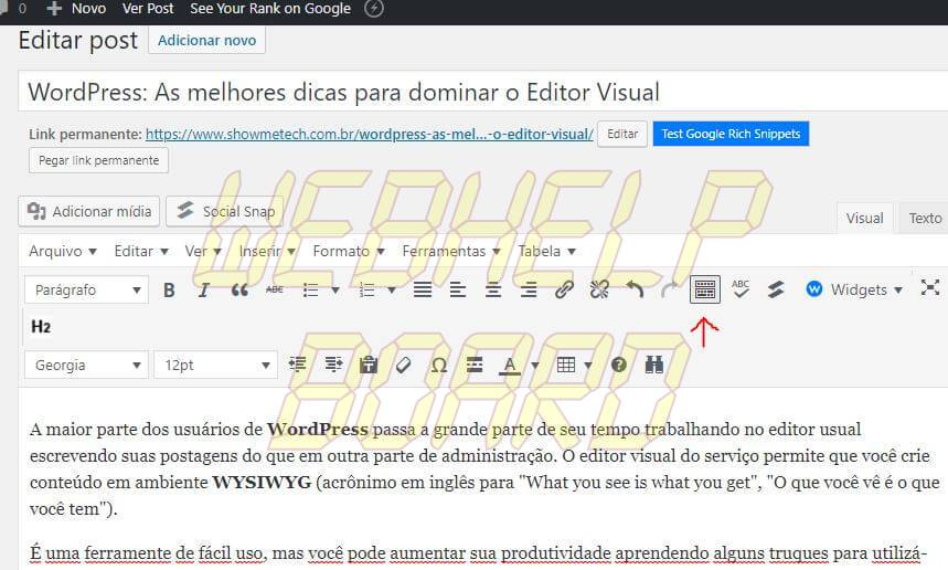 1 4 - WordPress: melhores dicas para entender recursos e criar posts