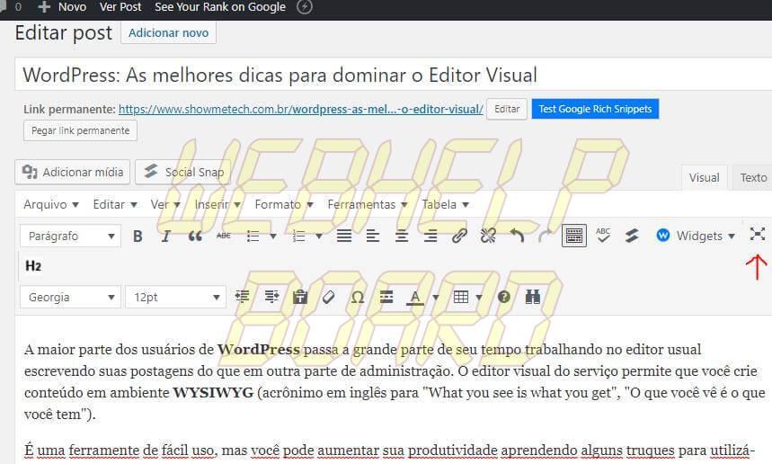 2 3 - WordPress: melhores dicas para entender recursos e criar posts