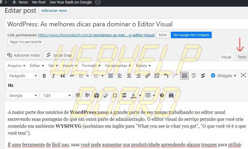 5 3 - WordPress: melhores dicas para entender recursos e criar posts