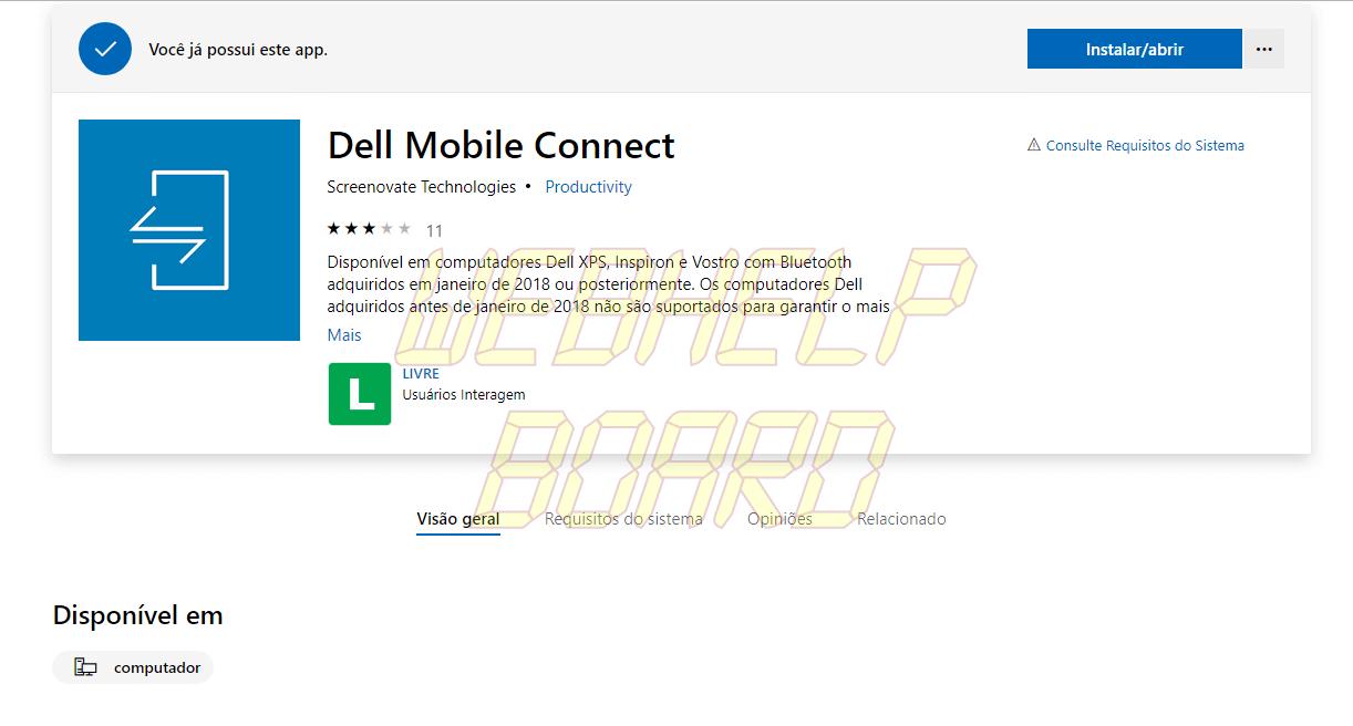 Captura de Tela 39 e1540823801595 - Dell Mobile Connect agora funciona em qualquer computador com Windows 10
