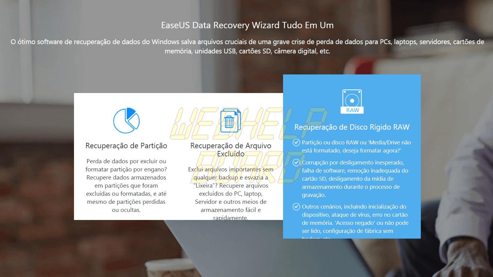 Captura de Tela 67 - Como recuperar arquivos deletados ou corrompidos com o DRW da EaseUS
