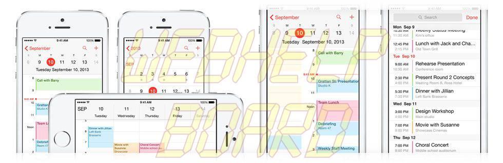 calendar hero - Apple lança seção com dicas do iOS 7