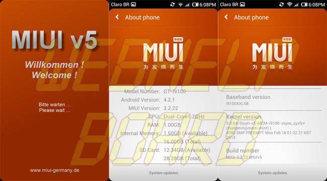 miui welcome - REVIEW : ROM MIUI v5 Style Beta 3.0 para o Samsung Galaxy S2 GT-i9100
