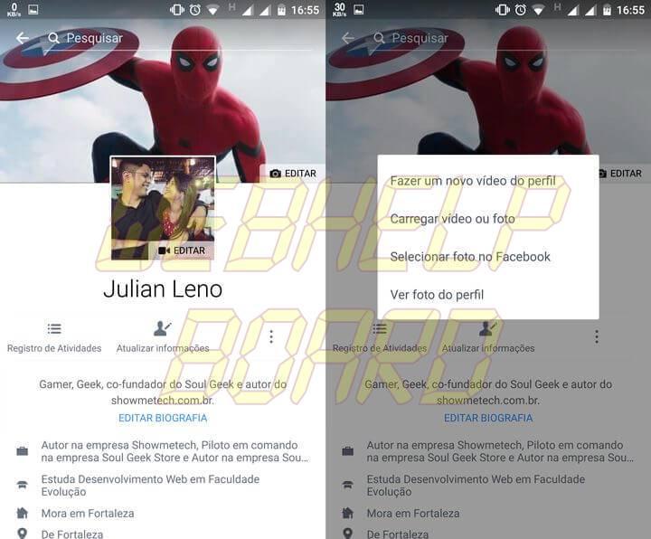 passo 01 720x596 - Facebook: como fazer um vídeo do perfil