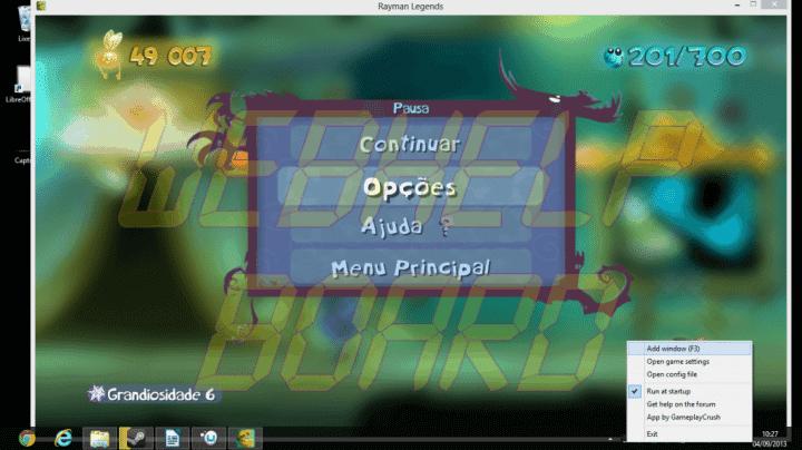 Captura de Tela 6 720x404 - Rayman Legends em câmera lenta no seu PC? Saiba como corrigir esse problema.