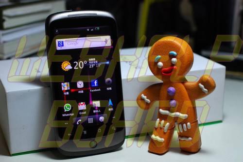 Nexus One Gingerbread 500x334 - Atualização GingerBread 2.3 no Nexus One