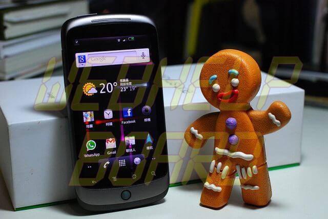 Nexus One Gingerbread - Atualização GingerBread 2.3 no Nexus One