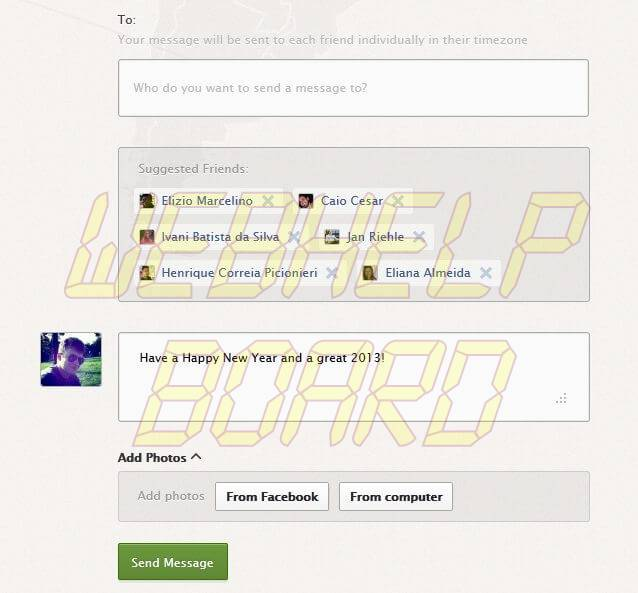 ScreenShot2011 - Como programar o Facebook para enviar mensagens no Ano Novo