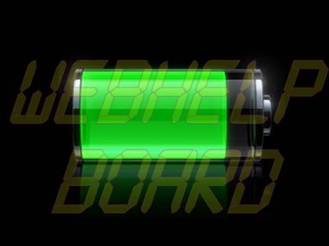 iphone battery icon - Aumente a vida útil da bateria do seu gadget