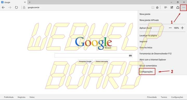 passo 2 edge google smt julian 720x385 - Tutorial: Como usar a busca do Google como padrão no Microsoft Edge