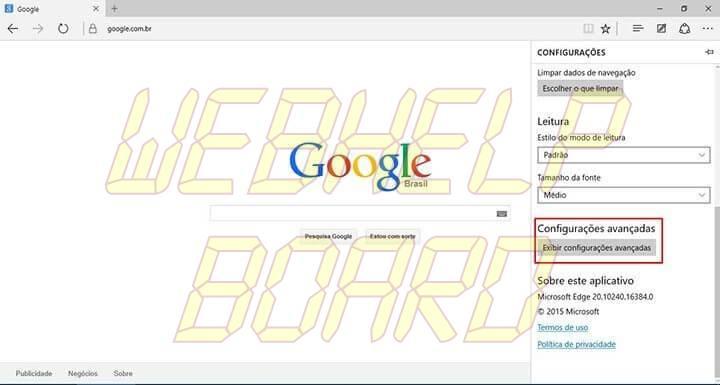 passo 3 edge google smt julian 720x385 - Tutorial: Como usar a busca do Google como padrão no Microsoft Edge
