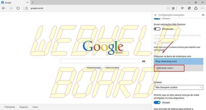 passo 4 edge google smt julian 720x384 - Tutorial: Como usar a busca do Google como padrão no Microsoft Edge
