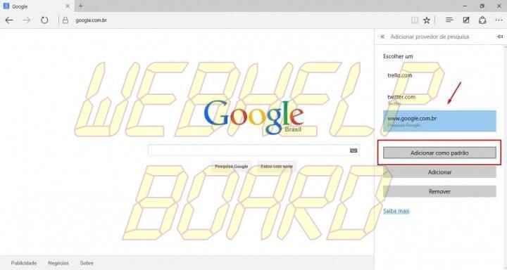 passo 5 edge google smt julian 720x384 - Tutorial: Como usar a busca do Google como padrão no Microsoft Edge