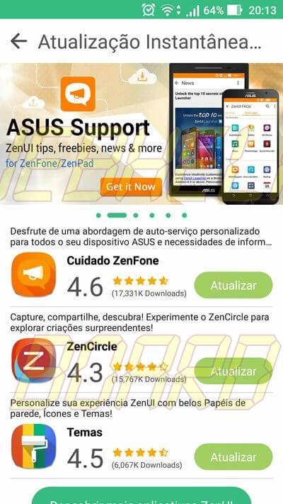 Screenshot 20161029 201346 - Dicas e truques do Zenfone 3: ZenUI e Toggles