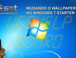 Tutorial: Cómo cambiar el fondo de pantalla en Windows 7 Starter Edition