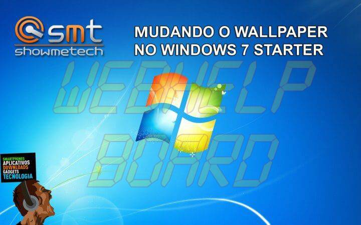 Windows7 720x450 - Tutorial: Como alterar o papel de parede no Windows 7 Starter Edition