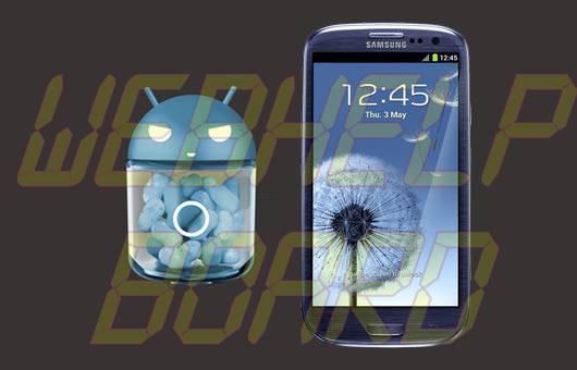 samsung galaxy s3 cm10 nfc - Fix de correção para o NFC no Galaxy SIII é liberado para CM10