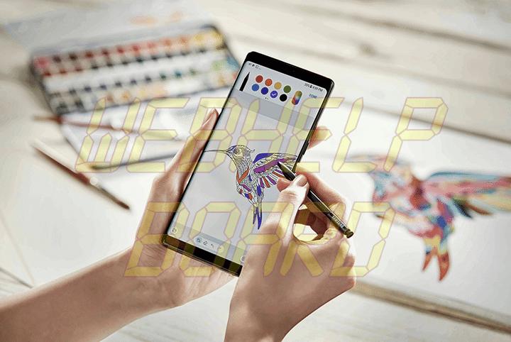 showmetech o que fazer caneta s pen samsung galaxy note 8 colorir 720x482 - Galaxy Note 8: o que dá pra se fazer com a nova S Pen?