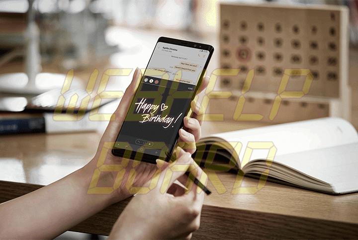 showmetech o que fazer caneta s pen samsung galaxy note 8 mensagem animada 720x482 - Galaxy Note 8: o que dá pra se fazer com a nova S Pen?