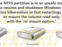 Tutorial: Acceda libremente a sus particiones NTFS en Linux en una máquina de arranque dual con Windows 8.