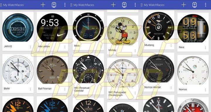facer app android wear smartwatch 720x382 - Tutorial: troca de faces no Android Wear (Moto 360, G Watch R, Gear Live e outros)
