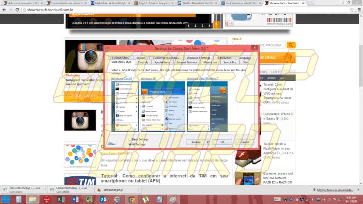 menuclassic 720x405 - Windows 8: como trazer o menu iniciar de volta